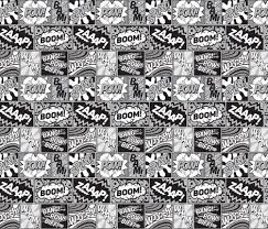 comic wrapping paper comic book lichtenstein fabric wallpaper and wrapping paper