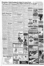 Abilene Reporter News From Abilene Texas On March 10 1955 by Abilene Reporter News From Abilene Texas On February 28 1956