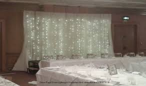 Curtains For Wedding Backdrop Steve Page Lighting Hire Fairy Light Backdrops And Starcloths