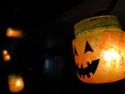 Baby Food Jar Halloween Crafts Jeanetics Baby Food Jar Pumpkin Lanterns