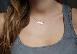 necklaces names small name necklace 14k gold name necklace solid gold name