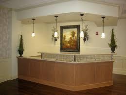 Wood Reception Desk Office U0026 Workspace Impressive Elegant Wood Reception Desk Design