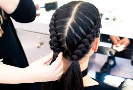 the boxer braid aka double french braid a how to coveteur