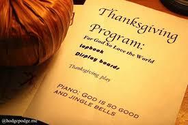 a thanksgiving homeschool celebration hodgepodge