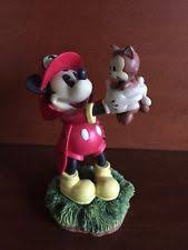 firefighter figurines mickey mouse firefighter fireman hydrant resin figurine