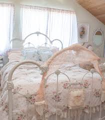 White Metal Bed Frame Bedroom Good Looking Furniture For Bedroom Decoration With