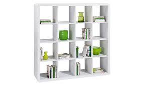 high gloss white bookcase prana 4x4 shelf with white high gloss finish round corners