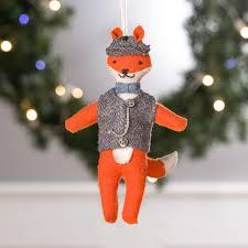 sir tipton the fox story ornament