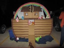 noah u0027s ark trunk or treat success box paint ty beanie babies