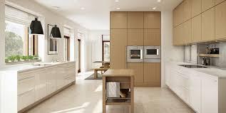 cuisine contemporaine blanche et bois cuisine moderne blanc et bois maison inspirations avec cuisine
