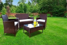Rattan Patio Table And Chairs Wowcher Garden Furniture Garden Shopping Deals Save Up To 80