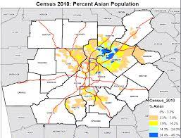 map of atlanta metro area census demographic report metro atlanta 2010 na ive tés appraisal