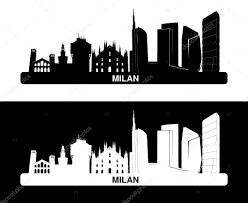 Map Italy Silhouettes Italian Cities by Milan Stock Vectors Royalty Free Milan Illustrations Depositphotos