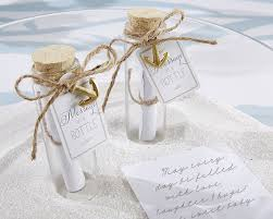 message in a bottle wedding message in a bottle glass favor bottle set of 12