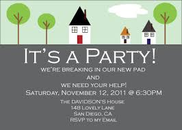 Design Your Own New Home Cards House Party Invitation Plumegiant Com