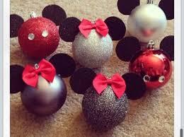 diy minnie mickey ornaments ourfirstchristmas goodjob