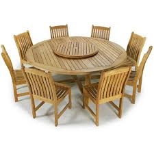 Round Teak Table And Chairs 11 Best Outdoor Settings Images On Pinterest Outdoor Settings