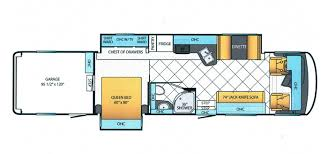 Toy Hauler Floor Plans Newmar Canyon Star Toy Haulers