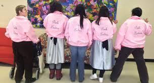 pink ladies u0026 t birds costumes have arrived dramaway