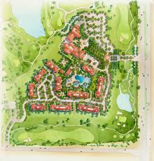 Watercolor Florida Map by Site Plan Renderings Genesis Studios Inc