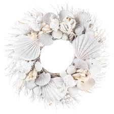 seashell wreath seashell branch wreath hobby lobby 1140292