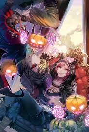 halloween anime background 786 best halloween anime images on pinterest anime girls