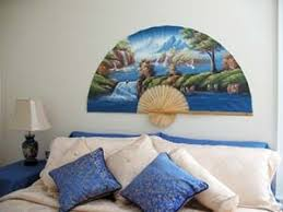 oriental fans wall decor huge chinese fans were popular wall decorations in the 90 s ode to