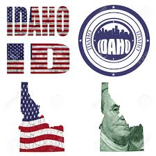 United States Map Abbreviations by Idaho State Collage Map Stamp Word Abbreviation In Different