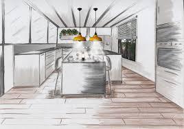 cuisine en perspective réalisations nathalie fera decoration