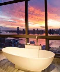 best hotel bathroom views travel leisure