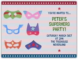 superheroes paperless post superhero birthday party
