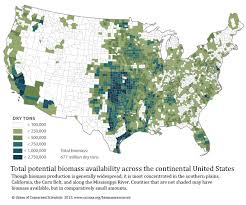 United States Area Code Map by Biomass Resources In The United States 2012 Union Of Concerned