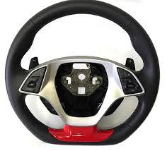 corvette steering wheel cover 2015 2017 c7 corvette z06 painted steering wheel insert cover c7