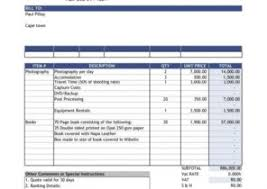 sales tax invoice format in excel free download design invoice
