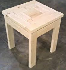 2 by 4 end table couples woodworking and woods