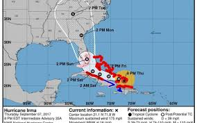 Homestead Fl Map Hurricane Irma Florida Hurricane Watch Expanded As Irma Nears