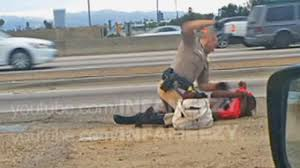 no charges for ex chp officer seen beating woman on freeway abc7 com