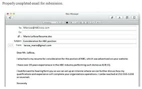 Set Up A Resume Emailing A Resume Lukex Co
