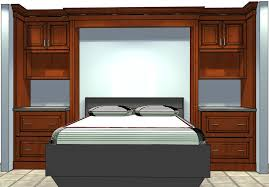 Who Knew SemiCustom Cabinets Could Be Used To Build A Bed Surround - Custom cabinets bedroom