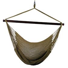Single Person Hammock Chair Blue Sky Outdoor 2 33 Ft Cotton Hammock Hanging Chair With