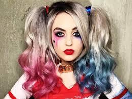 Easy Cute Halloween Makeup by Harley Quinn Halloween Makeup Ideas Ikifashion