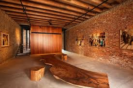 interior nice view with exposed brick wall outstanding exposed