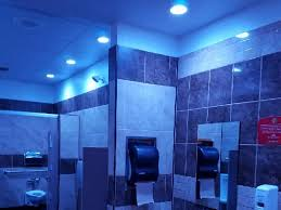 Lighting In A Bathroom Sheetz Gas Station Installs Blue Lights To Stop Opioid Users