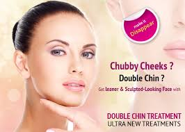 how to make a double chin look less noticable eith hair bodynshape
