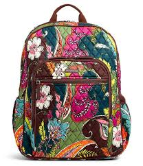 vera bradley cus laptop backpack dillards