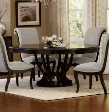 homelegance savion round oval dining table with leaf espresso