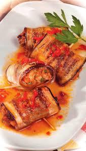 cuisiner l aubergine rouleaux d aubergine au boeuf haché recettes du québec