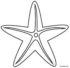 coloring pages fancy starfish coloring pages star fish