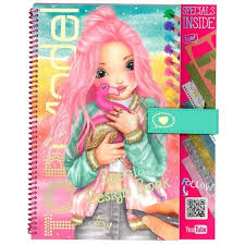 doll design book top model flamingo special design book video 41899 kidstuff