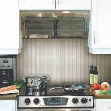 Kitchen Stick On Backsplash Peel And Stick Kitchen Backsplash Smart Tiles